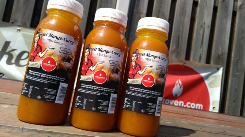 High Quality Sweet Mango Curry BBQ saus (250 ml)