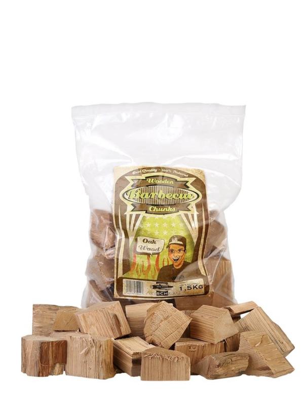 Axtschlag Wooden Barbecue Chunks - Oak 1,5 kg
