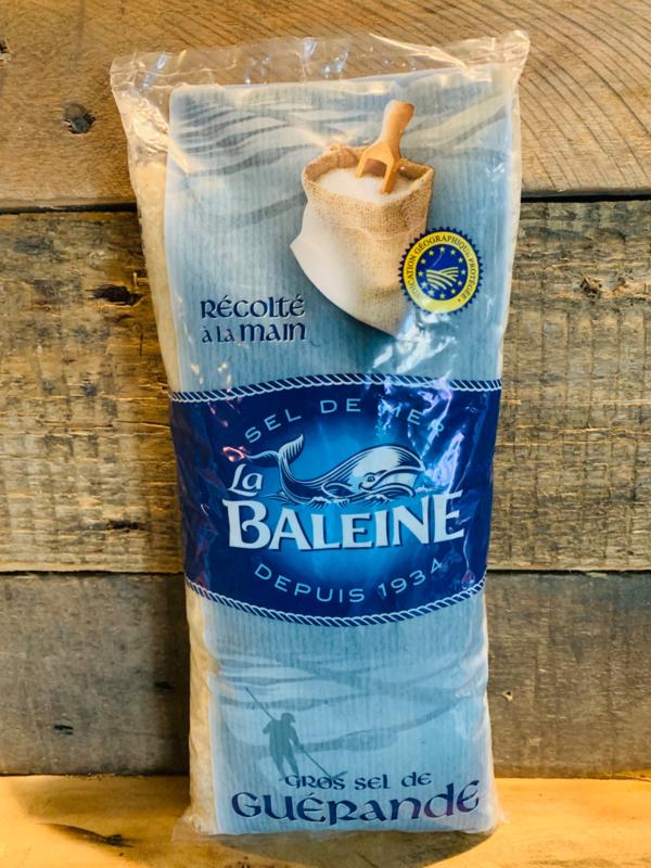 La Baleine Guérande Grof Zeezout 800 Gram