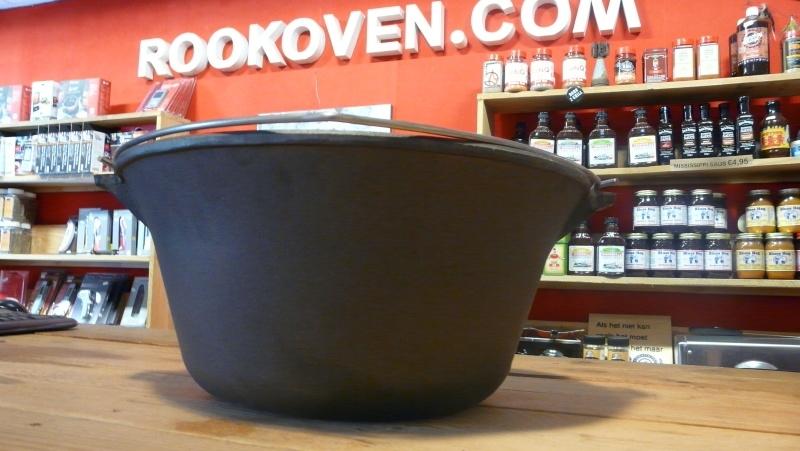 Goulashpan / heksenketel gietijzer 11 liter