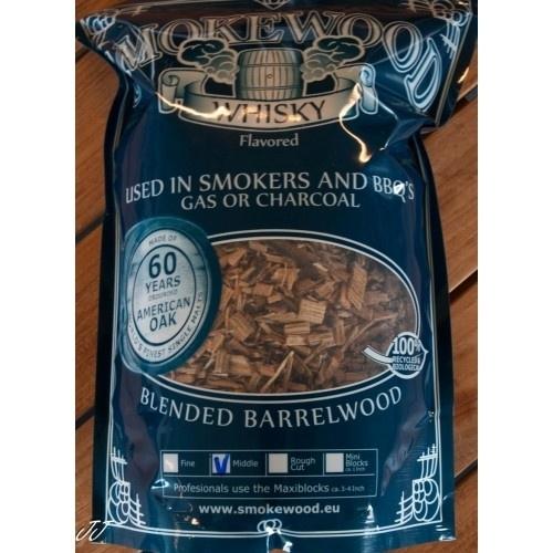 Smokewood whiskey Middle