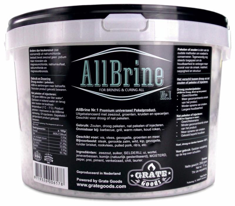 Grate Goods AllBrine Nr. 1 (emmer 2kg)