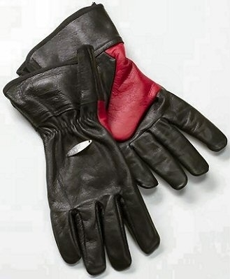 Bon-fire fire gloves, leather medium
