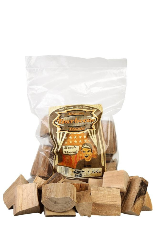 Wooden Barbecue Chunks - Beech Wood 1,5 kg