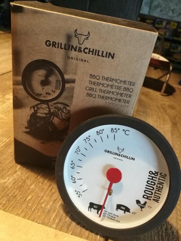 Grillin & Chillin Analoge Kerntemperatuurmeter (0-85°C)