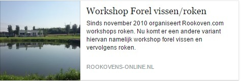 Workshop forel roken