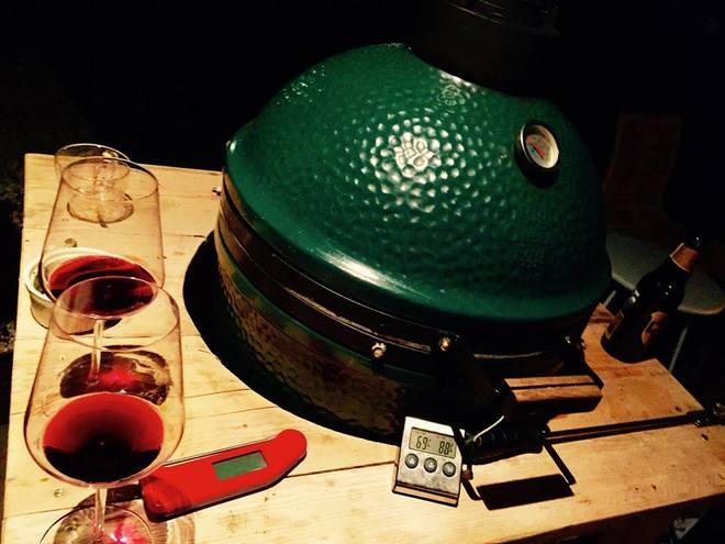 Sfeerfoto Big Green Egg