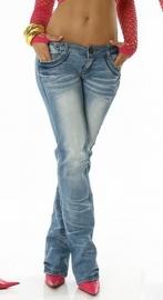 +-NeW+- Hele leuke Jeans! Rimpel Effect maat XL