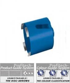 ProfiTech diamant dozenboor Abrasief Ø82 Profi Line