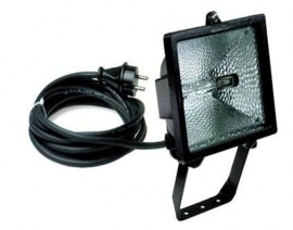 Halogeen armatuur 300W-II 230V-lamp.VC-5m