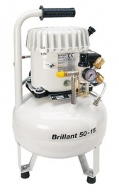 Poppers compressor Brilliant 15/50 15lt.