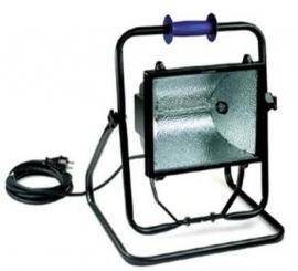 Halogeen armatuur 1000W-II 230V-lamp.VC-10m-VFS