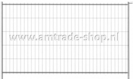 Bouwhek AM Trade 2 light inclusief kunststofvoet en klem