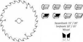 HM cirkelzaagblad Ø 150 voor handcirkelzaag 24 tanden Z
