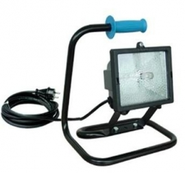 Halogeen armatuur 300W-II 230V-lamp.VC-5m-HFS