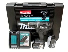 Makita DDF482RFJ 18V schroefmachine compleet in koffer