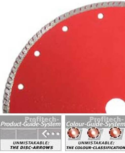 ProfiTech diamant tegelzaagblad FL Fliesen Plus Ø115 Profi-Line