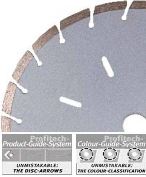 ProfiTech diamantzaagblad 3000 Ø230 Classic Line