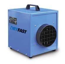 Bouwkachel Dryfast DFE 25 (230V) DE KRACHTPATSER