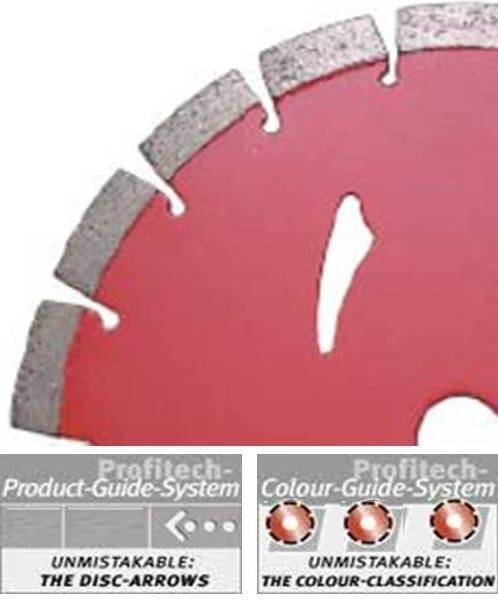 ProfiTech diamantzaagblad Laser Beton Premium S Ø180 Profi-Line
