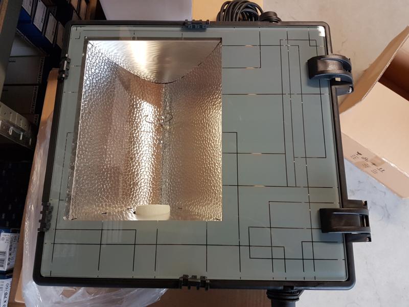 Super Najaarsdeal HQI-T armatuur lamp 400W / 230V-lamp-10 meter 3x1,0 mm