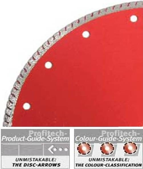 ProfiTech diamant tegelzaagblad TS Fliese Premium Plus Ø180 Profi Line