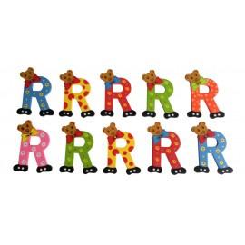 Grote berenletter R