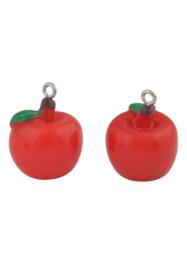 Kunststof hanger/bedel appel