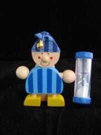 Tandenborstelhouder jongen met slaapmuts klein