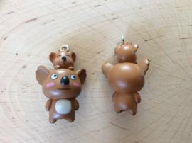 Kunststof hanger/bedel koala