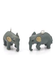 Kunststof hanger/bedel olifant