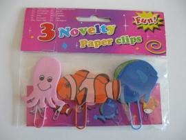 Set van 3 paperclips