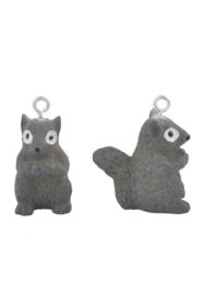 Kunststof hanger/bedel eekhoorn