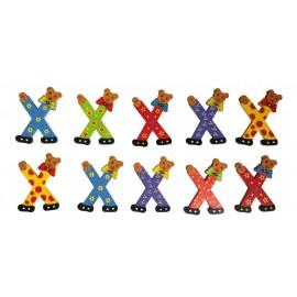 Kleine berenletter X