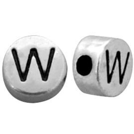 Metal look letterkraal W