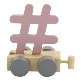 Hashtag roze