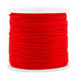 Macramé draad 0.8 mm. rood