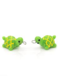 Kunststof hanger/bedel schildpad