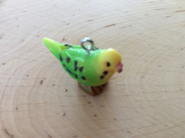 Kunststof hanger/bedel vogel