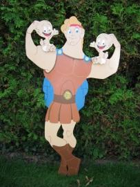 Geboortebord 'Hercules'