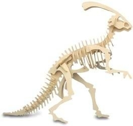 3D puzzel parasaurolophus
