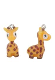 Kunststof hanger/bedel giraffe
