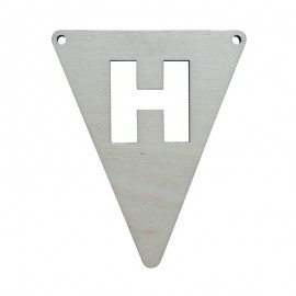 Vlagletter H