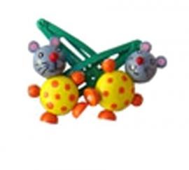 Haarknipjes muis