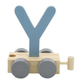Treinletter Y blauw