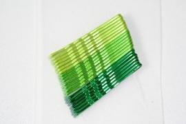 Haarschuifjes groen