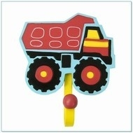 Kapstokhaak truck rood