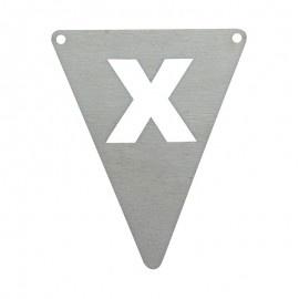 Vlagletter X