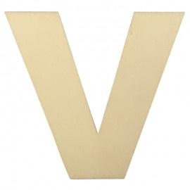 Houten plakletter V