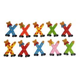 Grote berenletter X